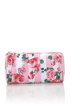 7ae2149d06f Rose Print Cosmetic Pouch