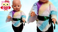 How to Cute Doll Jumper  Back to School Outfit  Baby Born Clothes Tutorial
