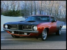 1974 Plymouth Barracuda  340 CI - Mecum Auction (sold $29,000, January 2014)
