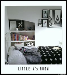 Girl's room. From Little Big Bell, lifestyle blogger based in London.