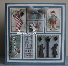 Christmas Cards 2018, Marianne Design, Diy Projects To Try, Homemade Cards, Shadow Box, I Card, Collages, Framed Art, Stampin Up