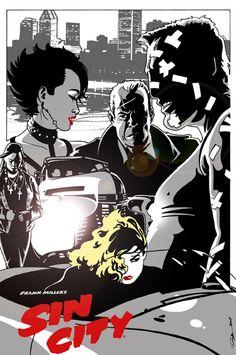 Sin City by *AlexDeB on deviantART