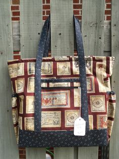 Handmade Fabric Travel Tote Purse by humblehrtdesigns on Etsy, $69.00