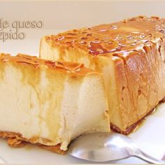 Flan de queso rápido (sin horno) - Quick Cheese Flan (no oven) Thermomix Desserts, No Bake Desserts, Just Desserts, Dessert Recipes, Mexican Food Recipes, Sweet Recipes, My Dessert, Granola, Cupcake Cakes