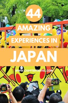These 44 experiences in Japan should be added to your Japan bucket list! From dressing up as a geisha to the Madness of Pikachu Outbreak in Tokyo, they are all unforgettable. Japan Travel Guide, Asia Travel, Tokyo Travel, Cruise Travel, Hawaii Travel, Wanderlust Travel, Time Travel, Pikachu, Europe Destinations