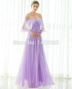 Aliexpress.com : Buy In Stock Lavender Junior Cheap Bridesmaids Dresses Long…