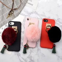 Flower Girl Phone Matte Case.   Compatible With iPhone 7, 7+, 6s, 6s+  Available in Pink, Black, And Red  https://pinkpartyproject.myshopify.com/products/flower-girl-phone-case