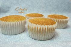 Estrade's cakes: receta de cupcakes de vainilla, o de leche caliente
