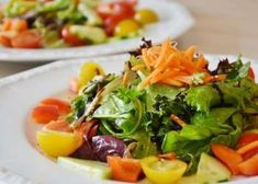 The Flexitarian Diet Salad Dressing Recipes, Salad Dressings, Healthy Eating Habits, Weight Loss Meal Plan, Vegetable Salad, No Carb Diets, Good Food, Awesome Food, Nutrition