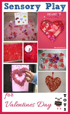 Sensory Play for Valentines Day