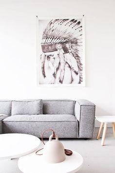 p u r e and r e a l. sofa