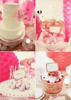 pink and pretty wedding on wedding chicks