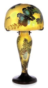 Bid in-person or online for the upcoming Century Decorative Art & Design on 26 October 2010 at London Old Lamps, Antique Lamps, Vintage Lamps, Vintage Art, Tiffany Art, Tiffany Lamps, Art Nouveau, Decoration, Art Decor
