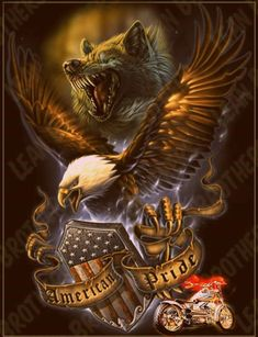 Eagle Images, Eagle Pictures, Wolf Pictures, Harley Davidson Pictures, Harley Davidson Art, American Flag Eagle, Native American Art, Hidden Picture Games, Harley Tattoos