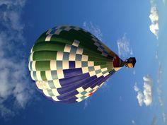 Flying at the Balloon Fiesta!
