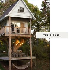 Treehouses... never not awesome