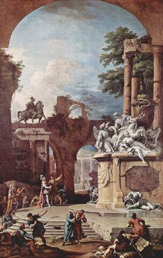 Оригинал взят у geogen_mir в ТАЙНЫ ЦИВИЛИЗАЦИИ. Древние руины на картинах и…
