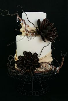gorgeous rustic wedding cake, this my favorite ever...truly