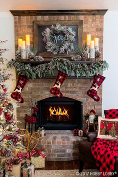 Give your Christmas decor cozy-cabin charm with the warm and rustic Northwood Lodge collection!
