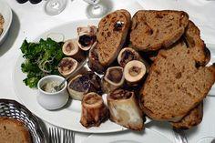 Fergus Henderson, St John Restaurant. Bone Marrow and parsley