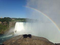 The Hayward frame #sightseeing at Niagara Falls