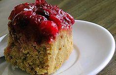 Cranberry Upside-down Cornbread