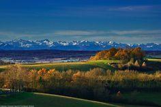 Magnifique point de vue sur la chaîne des #Pyrénées près de #Mirande