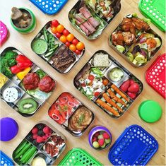 OK, so maybe by now you're tired of plastics. Don't let that be your excuse, though. Take your prep game up a notch with one of these stainless steel containers from @lunchbots. After all, sticking with food prep helps when your lunch box makes you smile.