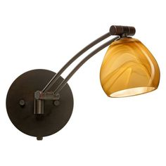 Besa 1WW-5605HN Honey Tay Tay Wall Light - 1WW-5605HN-
