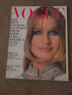 Vintage Vogue Magazine September 1968 by doyourememberwhen on Etsy, $20.00
