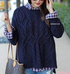 Добрый день, моя любимая Страна Мамочек! Собрала на просторах инета немного моделек с аранами. Схема здесь http://mslanavi.com/ Мужской свитер аранами. http://kluboknitok.ru/