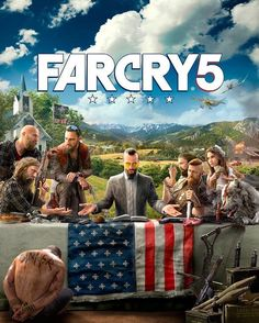 """Polubienia: 2,556, komentarze: 84 – Sauce Squad (@saucesquad_) na Instagramie: """"What do you think of the brand new FAR CRY 5 poster? - - @saucesquad_"""""""