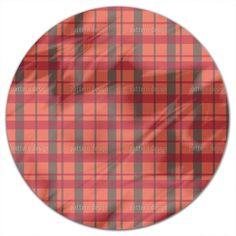 Uneekee Carolina Tartan Round Tablecloth