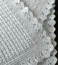 58 Ideas for crochet patterns blanket girl baby afghans Crochet Blanket Border, Baby Afghan Crochet, Crochet Borders, Baby Afghans, Afghan Crochet Patterns, Crochet Stitches, Knit Crochet, Baby Blankets, Crochet Quilt