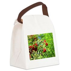 Rowan berries Canvas Lunch Bag on CafePress.com