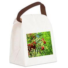 Rowan berries Canvas Lunch Bag on CafePress.com