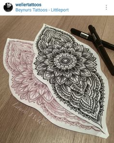 Mandala Foot Tattoo, Mandala Tattoo Design, Tattoo Designs, Shin Tattoo, Calf Tattoo, Leo Tattoos, Future Tattoos, Neck Tattoo For Guys, Tattoos For Guys
