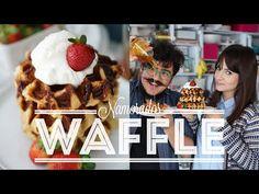 Waffle Belga | Vídeos e Receitas de Sobremesas