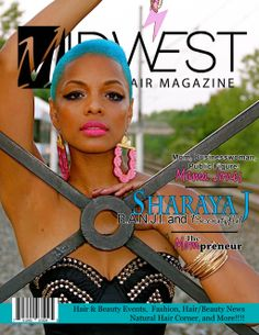 Surprising Midwest Black Hair Magazine My Hairstyle Creation Was Featured In Hairstyles For Men Maxibearus