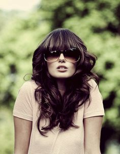 In another life I will pull of bangs like this!