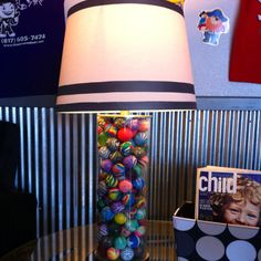 Nothing like a bouncy ball lamp!!