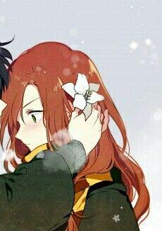 Couple Anime Harry Potter part 2 Sunflower Wallpaper, Love Images, Harry Potter Anime, Couple Wallpaper, Cute Icons, Animation, Anime, Avatar Couple, Fan Art