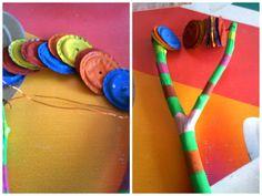 Instrumentos musicales hecho con material reciclable