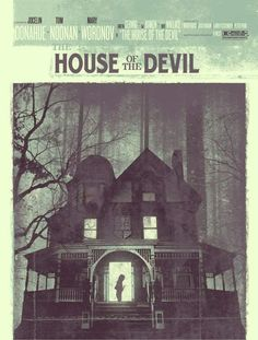 House of the Devil poster.