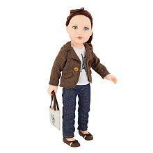 Journey Girls 18 inch Doll - Kelsey (Brown Tweed Blazer)