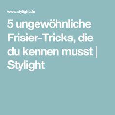 5 ungewöhnliche Frisier-Tricks, die du kennen musst   Stylight
