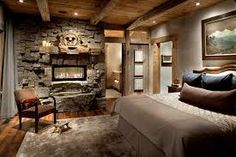 If you want to bring the relaxing atmosphere of the countryside into your bedroom, then opting to decorate this room in a rustic manner is just what you need.