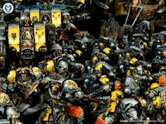 Den of Imagination - Gallery Warhammer 40k Space Wolves, Warhammer 40000, 40k Armies, Wolf Painting, Warhammer 40k Miniatures, Painting Services, Angel Of Death, Crusaders, Space Marine