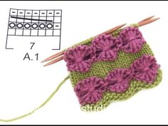 DROPS Knitting Tutorial: How to work flower pattern in DROPS Extra In this DROPS video we show you how to knit the flower pattern according to chart . for the Oh Darling poncho in DROPS Extra In the video we have already knitted the Lace Patterns, Baby Knitting Patterns, Lace Knitting, Knitting Stitches, Knitting Designs, Flower Patterns, Stitch Patterns, Knit Crochet, Crochet Patterns