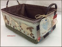 Box Houses, Patchwork Bags, Embroidery Applique, Decorative Boxes, Quilts, Sewing, Fabric, Pattern, Blog
